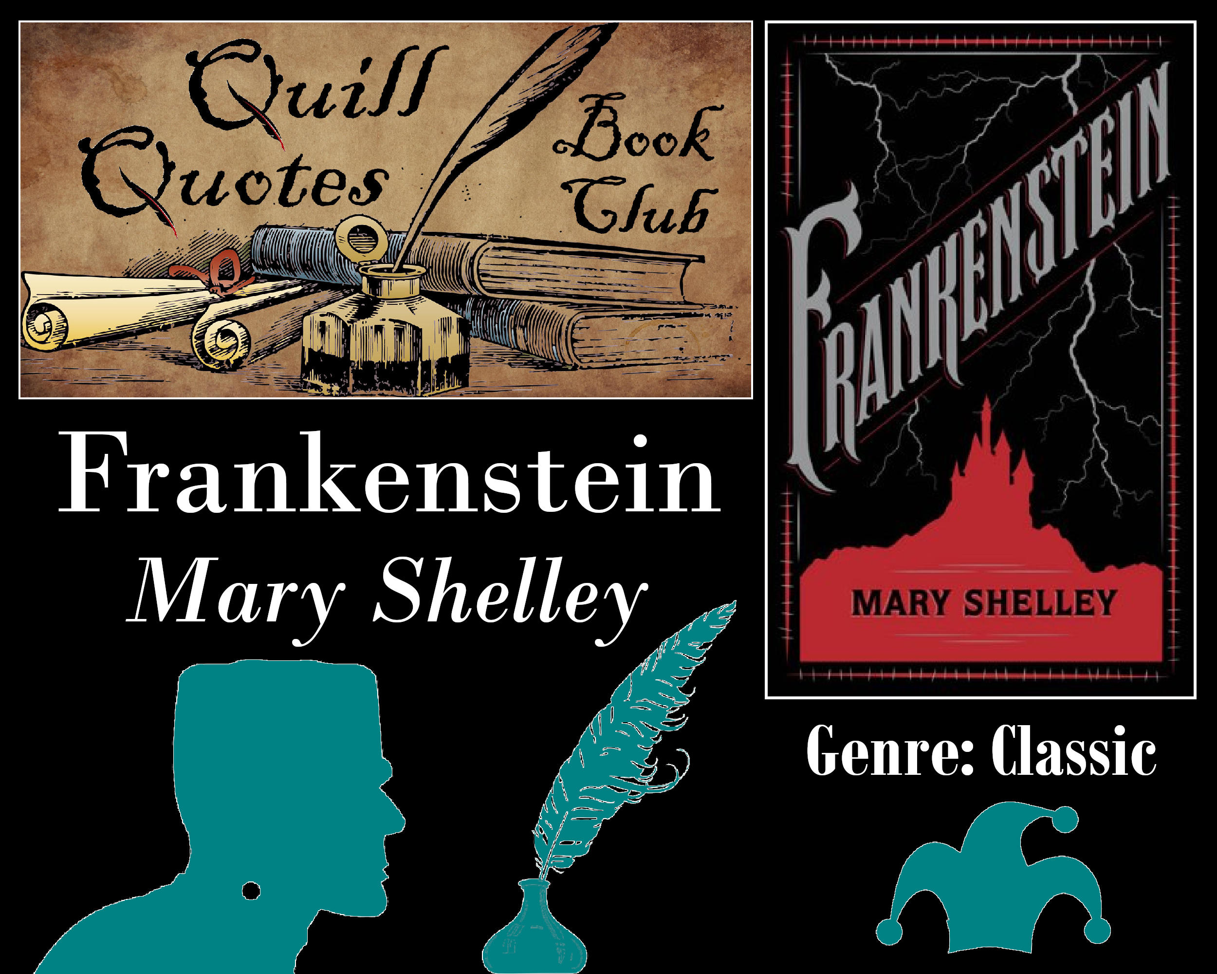 Frankenstein Book Club Final Discussion Quill Quotes